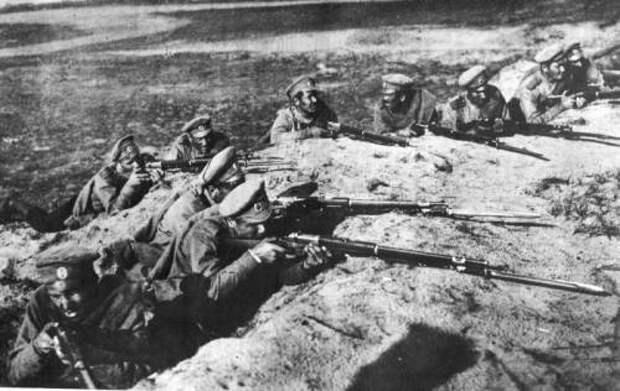 Баллада о «винчестере»: на мировой войне и на охоте…
