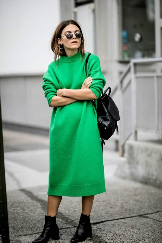 Как стильно носить модные вещи в стиле оверсайз женщине 45+