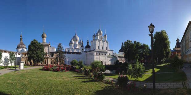 Ростов - один из красивейших малых городов России