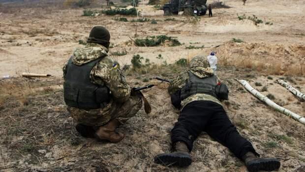 Американская делегация посетила позиции бойцов ВСУ в Донбассе