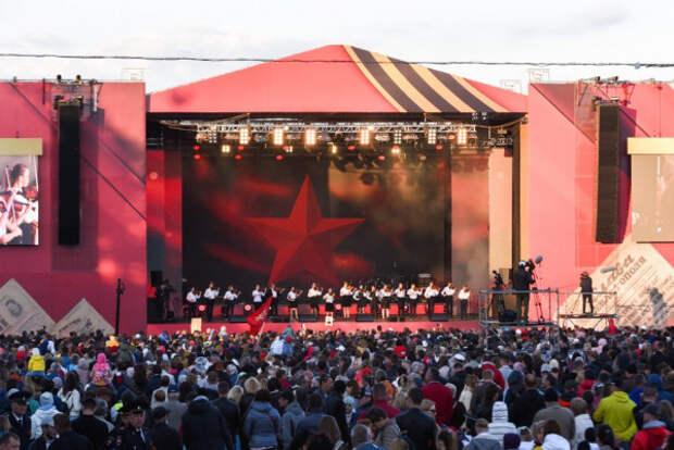 В Севастополе прошел праздничный концерт, посвященный Дню Победы