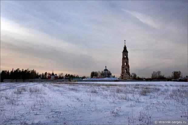 Николо-Берлюковская пустынь зима