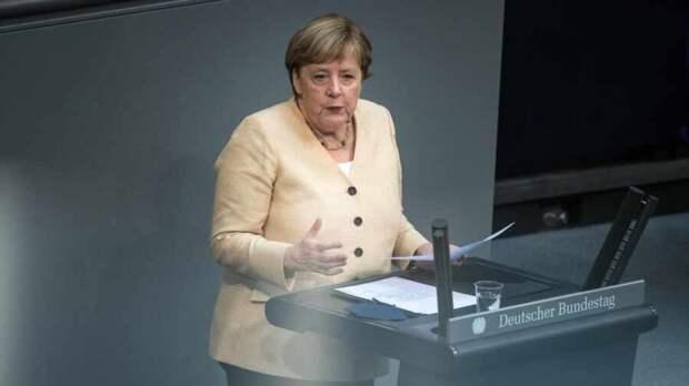 Бурная прощальная речь Ангелы Меркель в Бундестаге