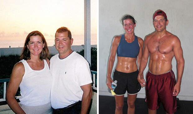 Тиоти потерял 16 килограммов, а Эйлин - 8 диета, лишний вес, похудение