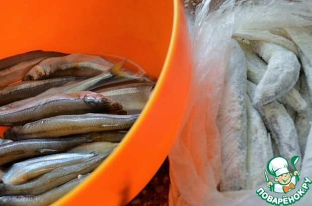 Обвалка рыбы для жарки