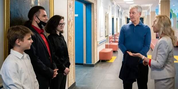 Детскую хоровую школу на Дежнёва открыли после капремонта