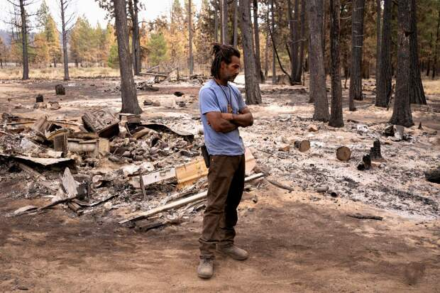 Бутлегский пожар уничтожил более 400 000 акров леса в штате Орегон