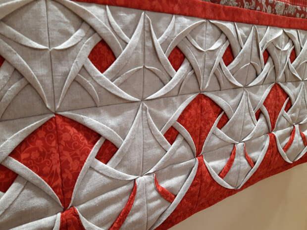Оригами из ткани: такого я ещё не видела!