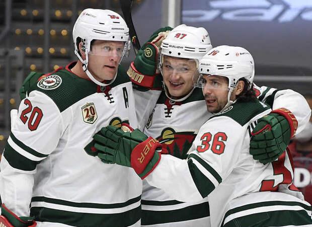 Капризов повторил персональный рекорд в НХЛ