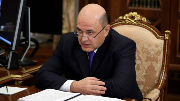 Журналисты насчитали 40 упоминаний Путина в докладе Мишустина