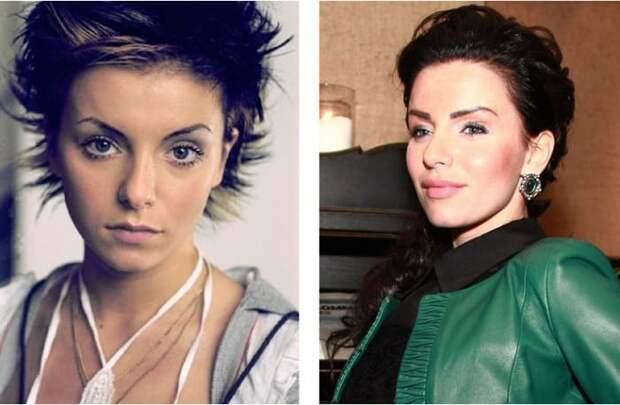 Юлия Волкова тогда и сейчас | Фото: art-assorty.ru