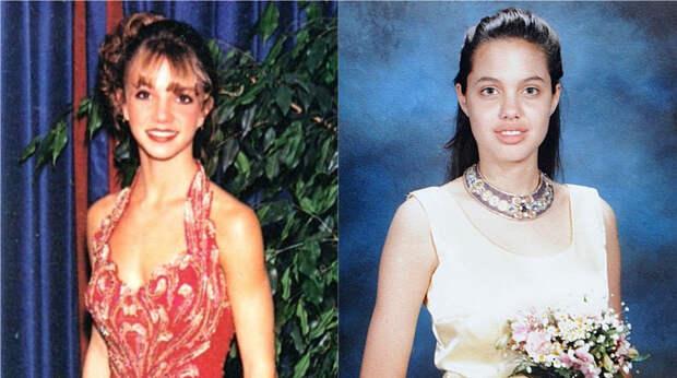 Как выглядели наши и зарубежные знаменитости на школьном выпускном?