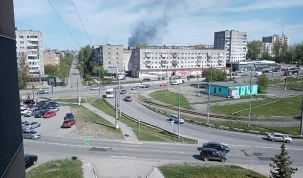 УГМС и Минэкологии не выявили опасность при горении токсичного пека на ЕВРАЗ НТМК
