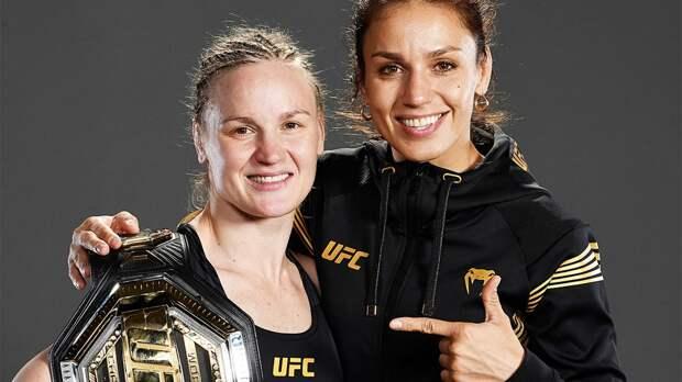 Сестра чемпионки UFC Шевченко проиграла сабмишном американке Ли на турнире UF...