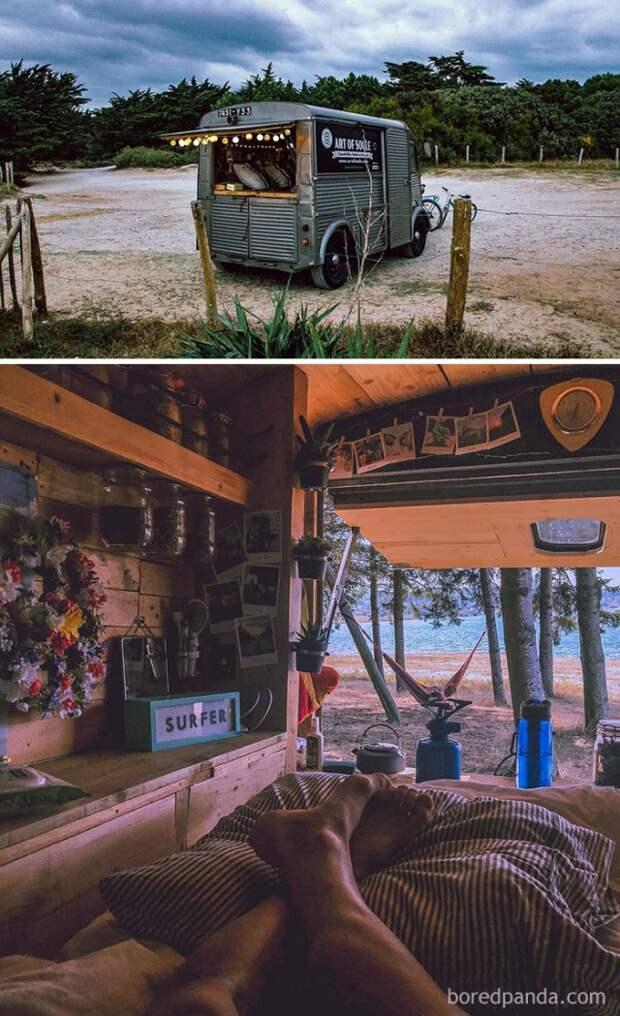 Дома на колесах для путешествий