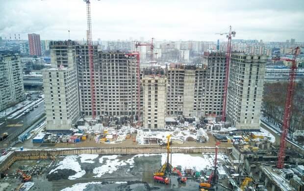 Депутат Мосгордумы Титов отметил высокую скорость достройки проблемного дома на 229 квартир в ЗелАО