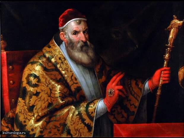 Папа Римский Сикст V. | Фото: henri-iv.culture.fr.