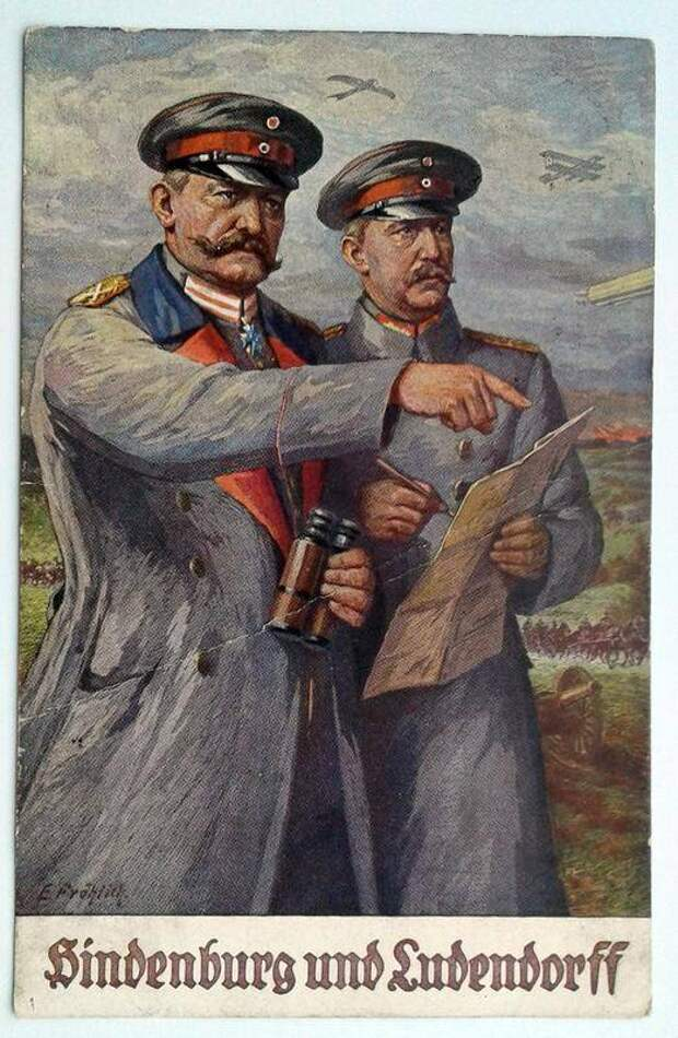 Ошибка Людендорфа. Поляки не встали фронтом