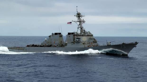 Корабль береговой охраны ВМС США Hamilton зашел в одесский порт
