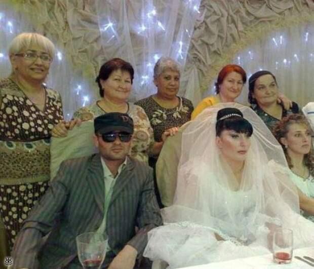 Прикольные свадебные торжества 17
