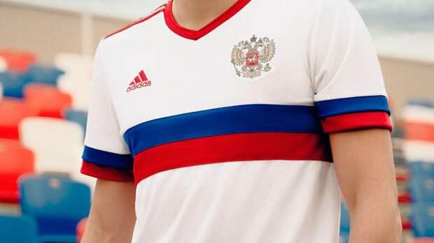 Гостевую форму сборной России признали одной из самых красивых на предстоящем Евро