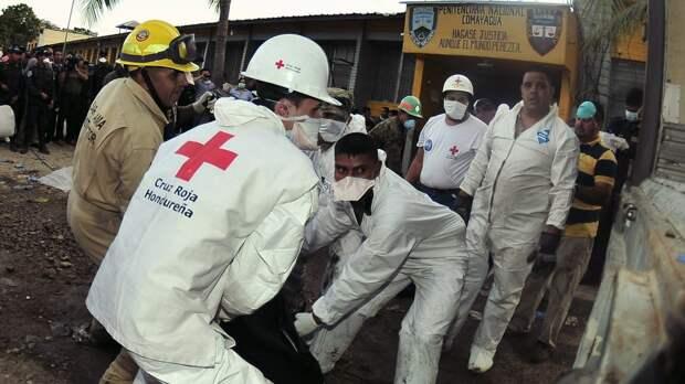 Пять человек погибли в ходе тюремных беспорядков в Гондурасе