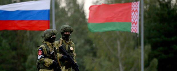 Российская армия идет на защиту Белоруссии