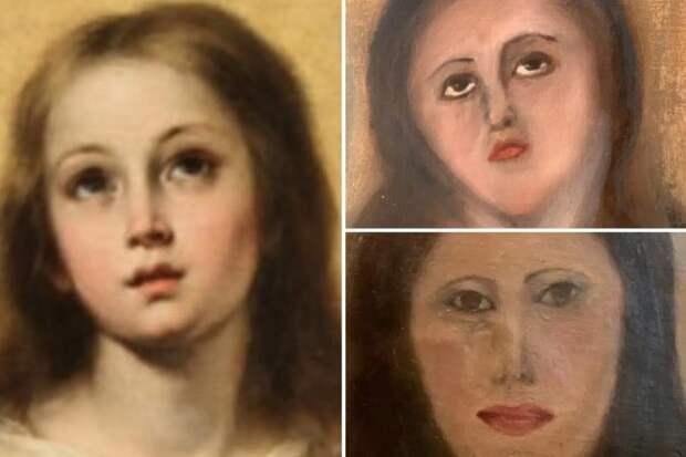 Мастер-ломастер: испанец испортил картину 17 века, взявшись заеереставрацию
