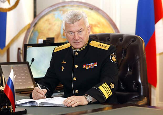 Главнокомандующий ВМФ России поздравил балтийцев с Днем Балтийского флота