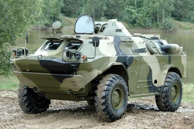 БРДМ-2 – бронированная машина разведки на службе армии России
