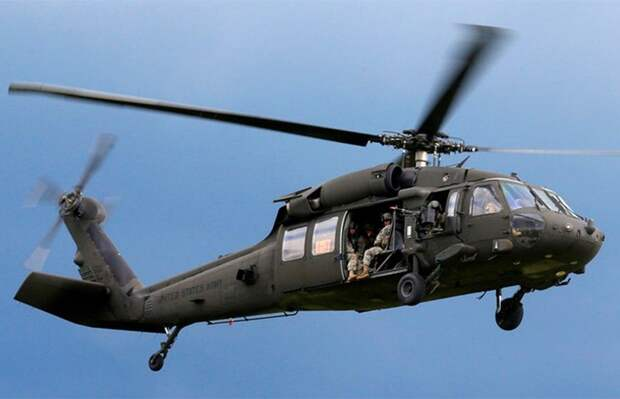 В США крушение потерпел военный вертолет. Есть погибшие