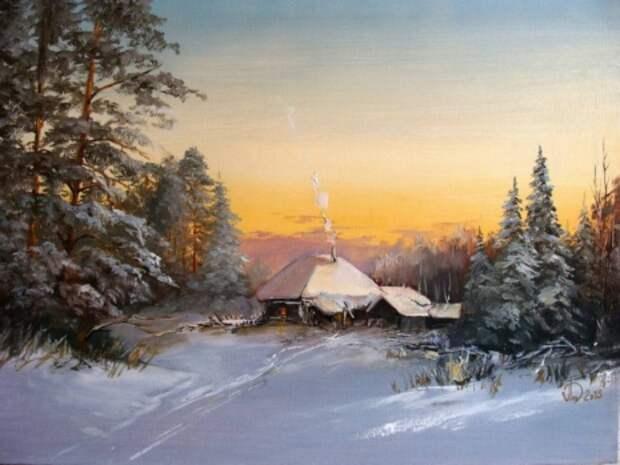 художник Александр Леднёв картины – 11