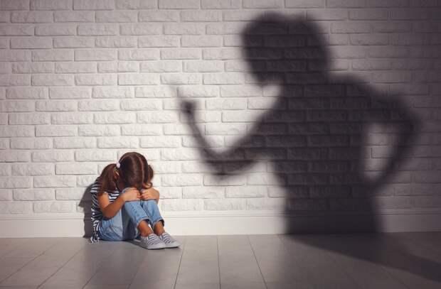Обиженная девочка