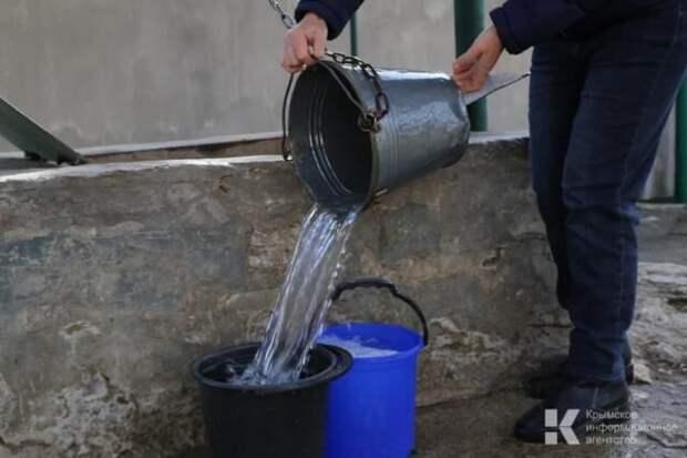 Микрорайон в Симферополе остался без воды на весь день