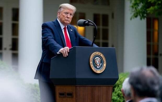 """Трамп удостоился звания """"внутренний враг"""" США - Cursorinfo: главные новости Израиля"""