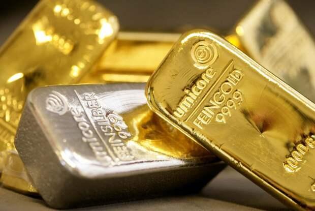Заговоренное золото и серебро.
