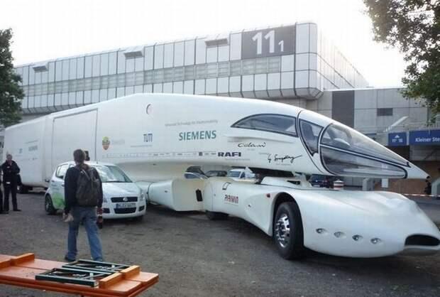 Colani SuperTruck (2006) Концепт седельного тягача с минимальным аэродинамическим сопротивлением Colani, авто, дизайн