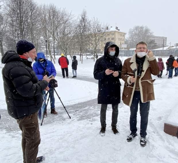 Владимир Дорохов стал героем несанкционированного протеста в Туле