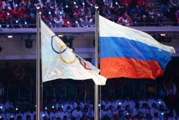 Российские спортсмены остались без флага
