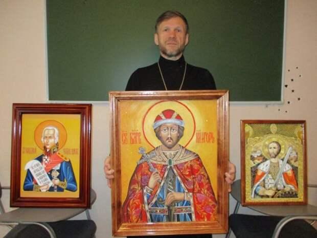 Написанную осужденной из Удмуртии икону представят на конкурсе в Москве