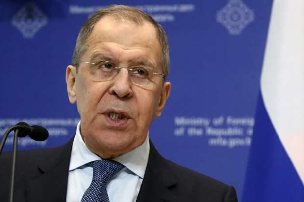 Сергей Лавров назвал «тупой» линию Вашингтона наконфронтацию сМосквой