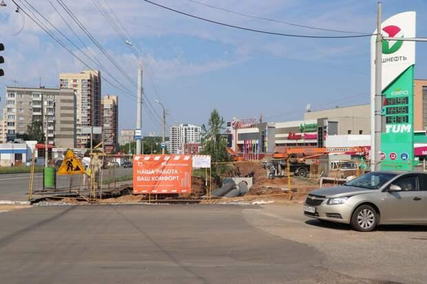 Большой ремонт труб на улице Холмогорова в Ижевске повысит надёжность теплоснабжения для 250 домов