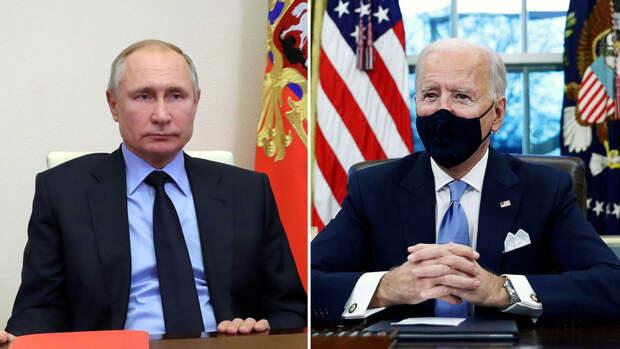 Politico назвала возможные места встречи Путина и Байдена