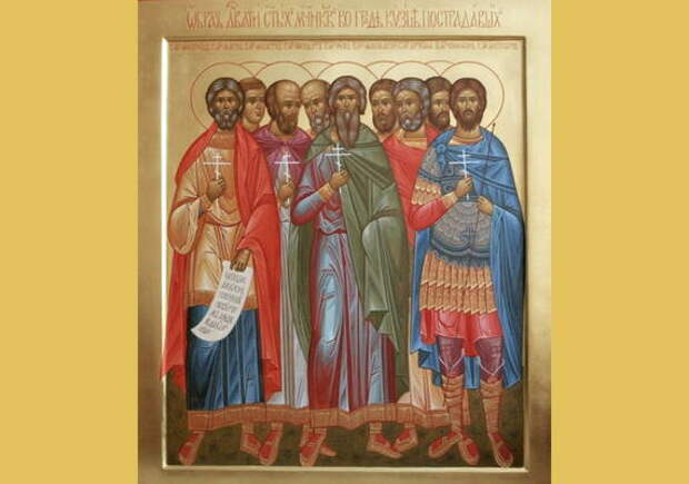 С Днем памяти 9 мучеников Кизических 12 мая православные поздравления для СМС