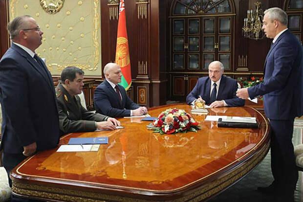 Лукашенко сменил глав силовых ведомств Белоруссии