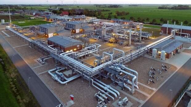 Стагнация замечена в европейских газовых хранилищах
