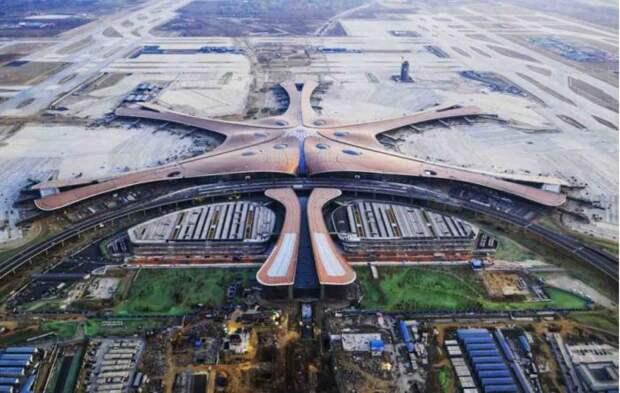 Аэропорт Пекин Дасин. | Фото: People's Daily.