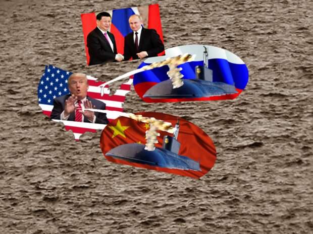"""О военно-морских учениях России и Китая у берегов США сообщило китайское СМИ в категории """"запланировано"""""""