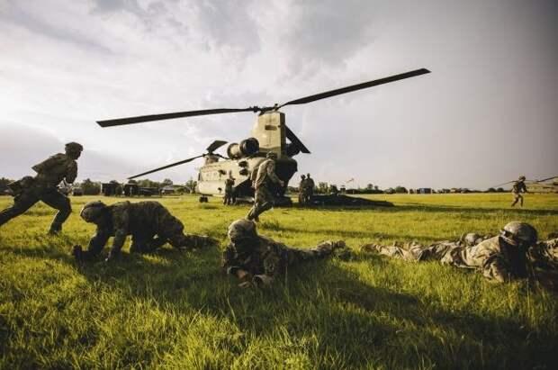 Американские десантники получили травмы на учениях в Эстонии
