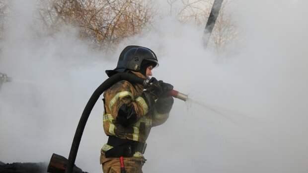 Названа предварительная причина пожара в новом детском саду под Краснодаром